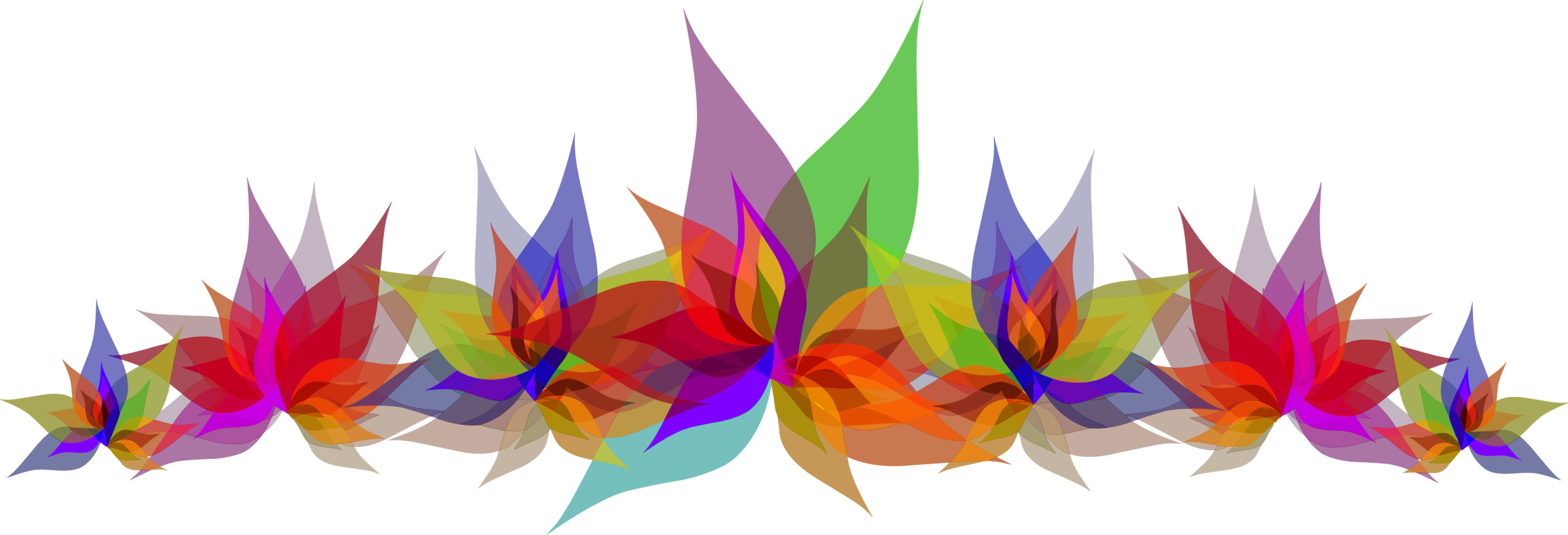 Abstract flower png. Flowers icons free and