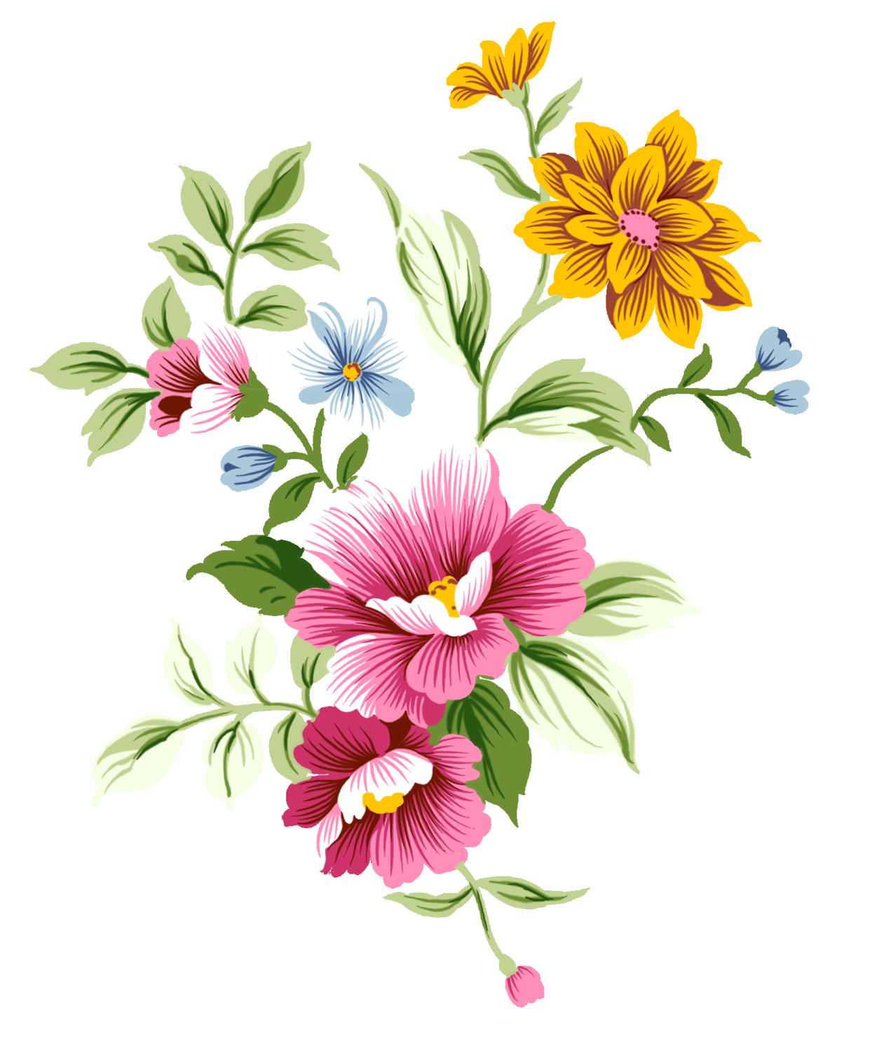 transparent flowers png