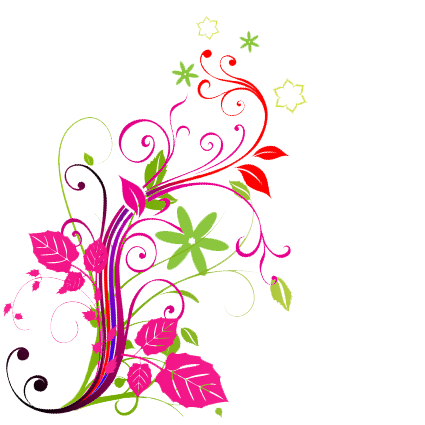 abstract flowers png