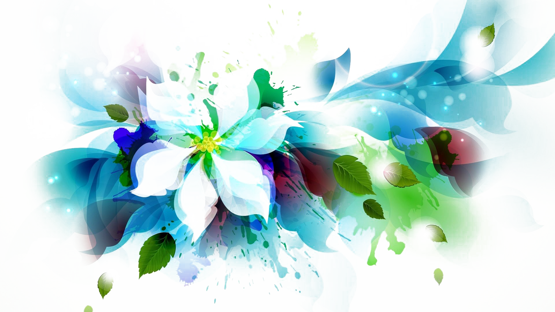Abstract flowers png. Flower transparent images arts