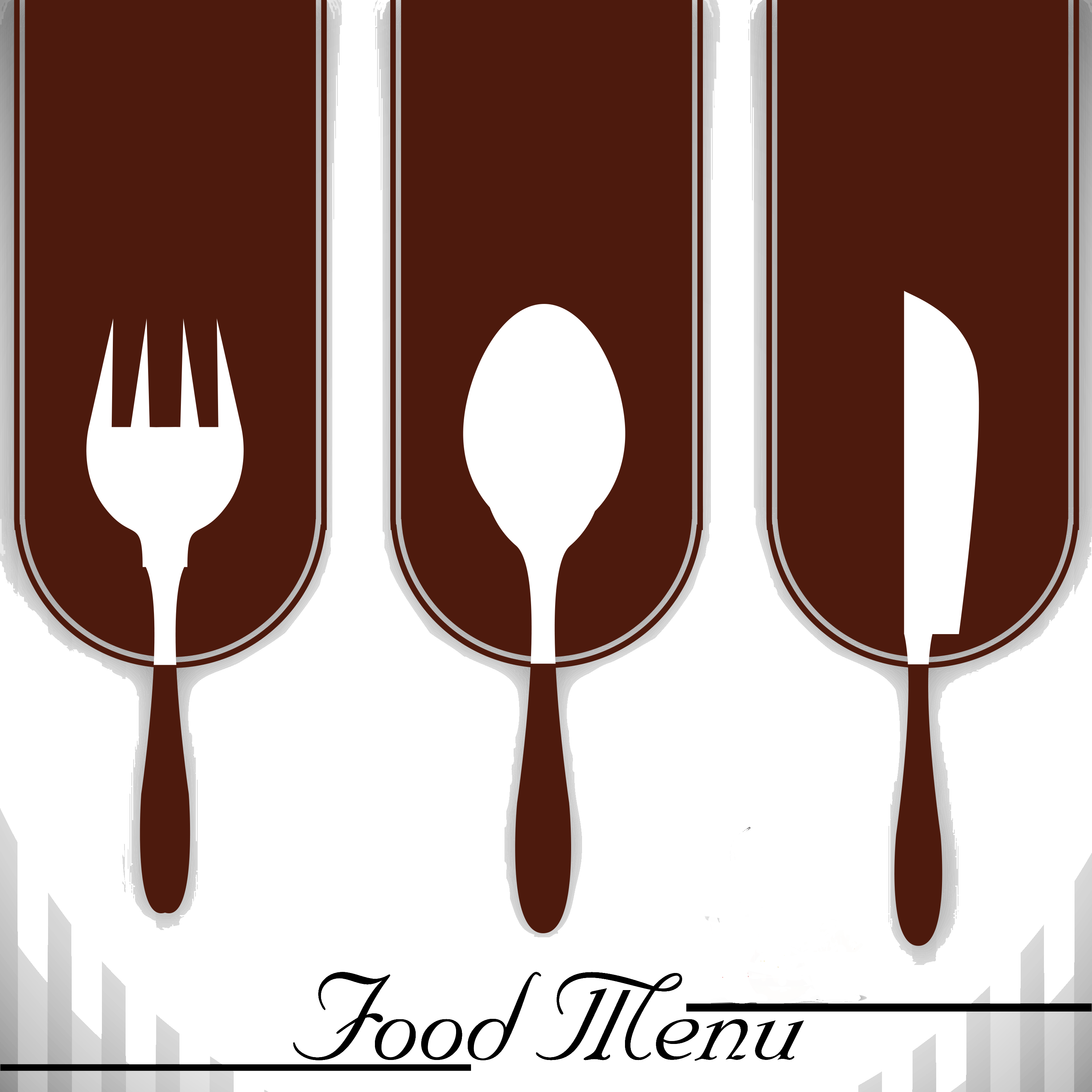 Cutlery vector culinary. Steak lobster at the