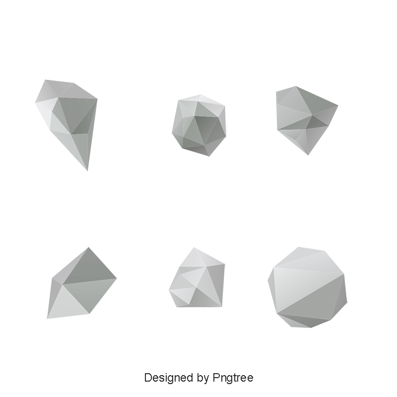 Abstract geometric shapes png. Design d and psd