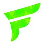 Abstract green png. Fly faction logo mens