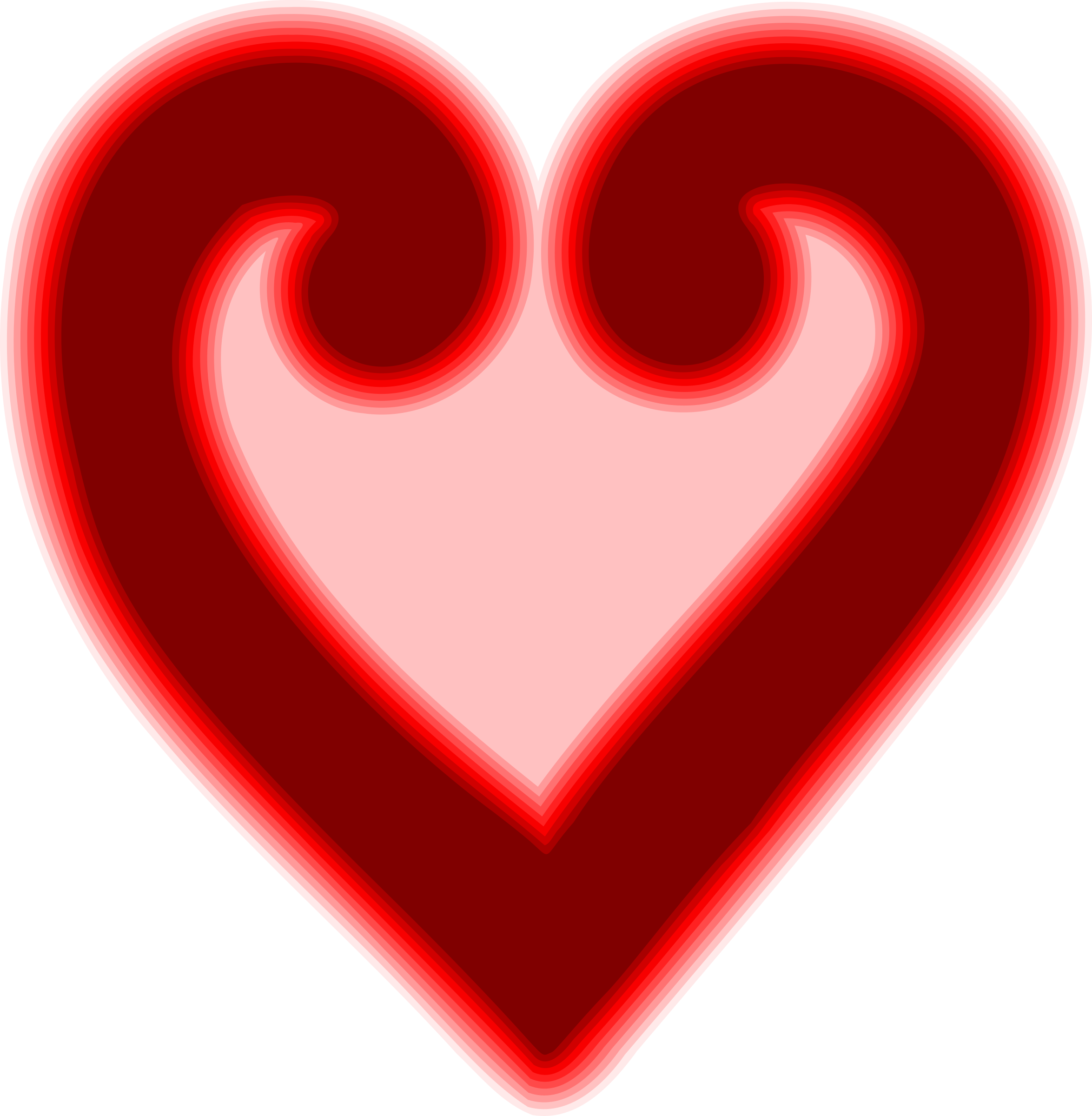 Abstract heart png. Icons free and downloads