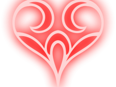 Abstract heart png. Images vector clipart psd