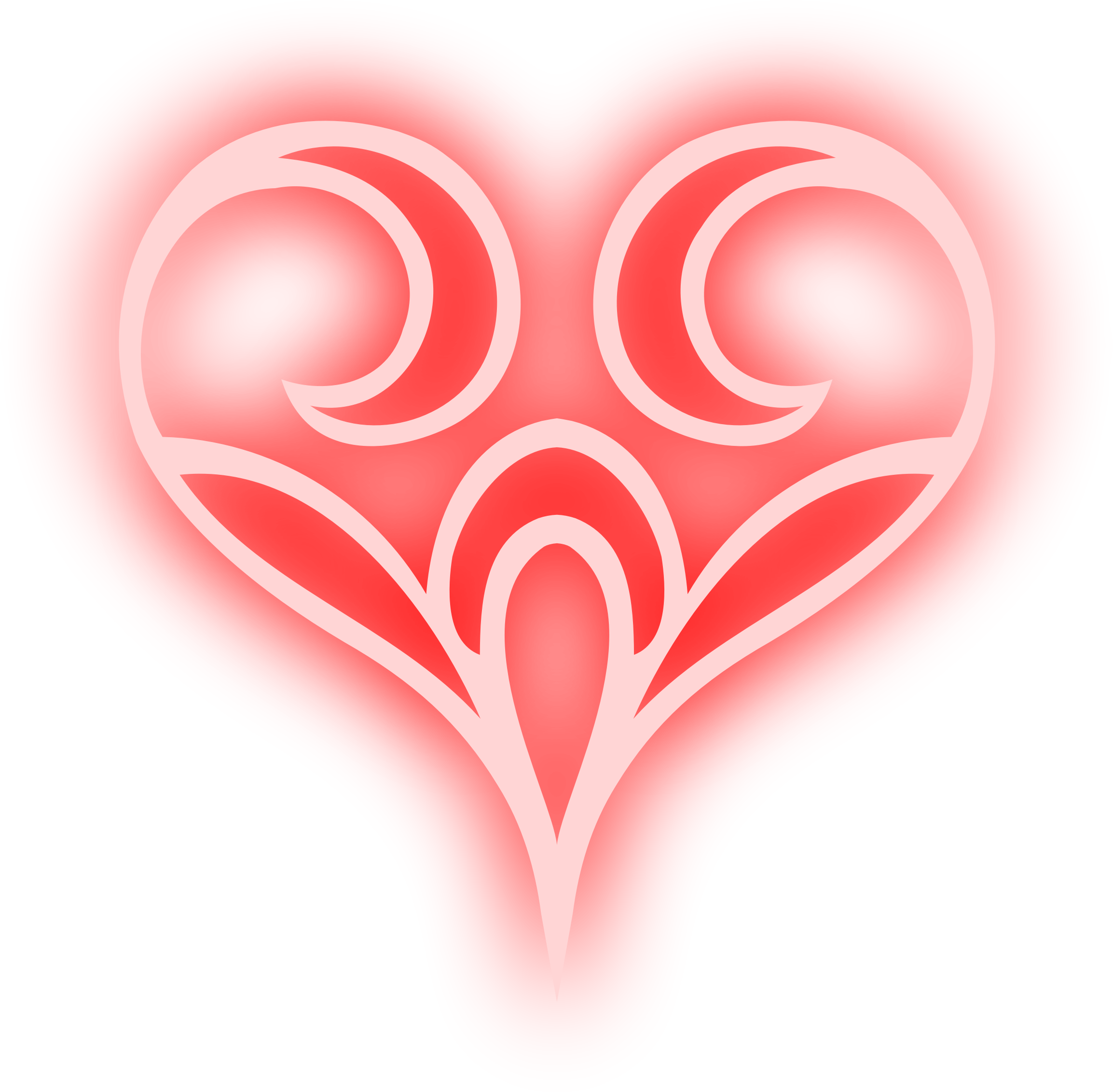 Abstract heart png. Clipart colour big image