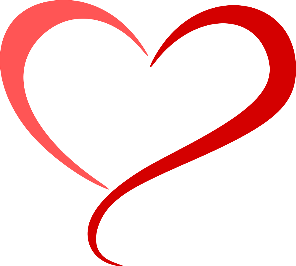 Abstract heart png. Onlinelabels clip art colour