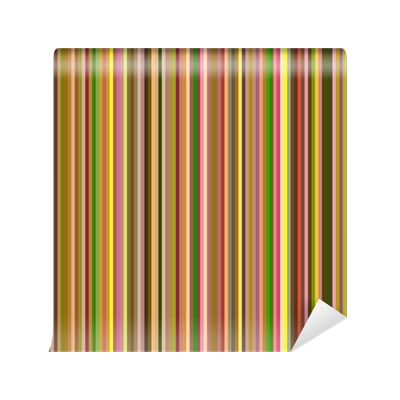 Abstract stripes png. Seamless warm colors vertical
