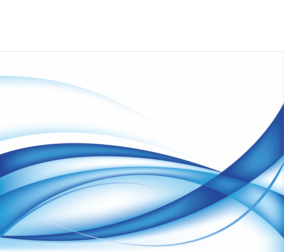 Abstract wave png. Blue transparentpng