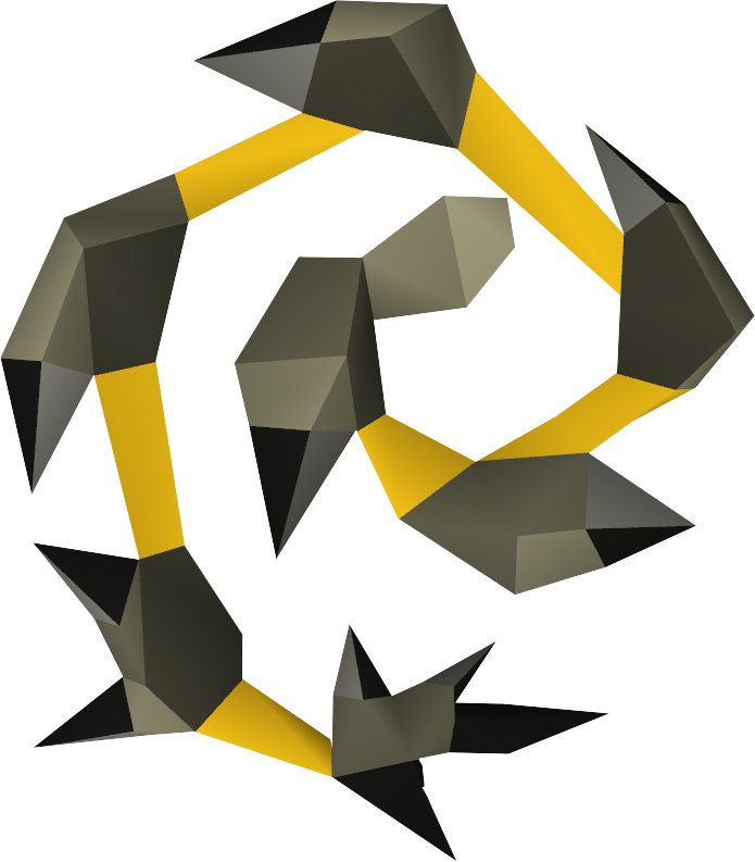 Abyssal whip png. Image yellow detail runescape