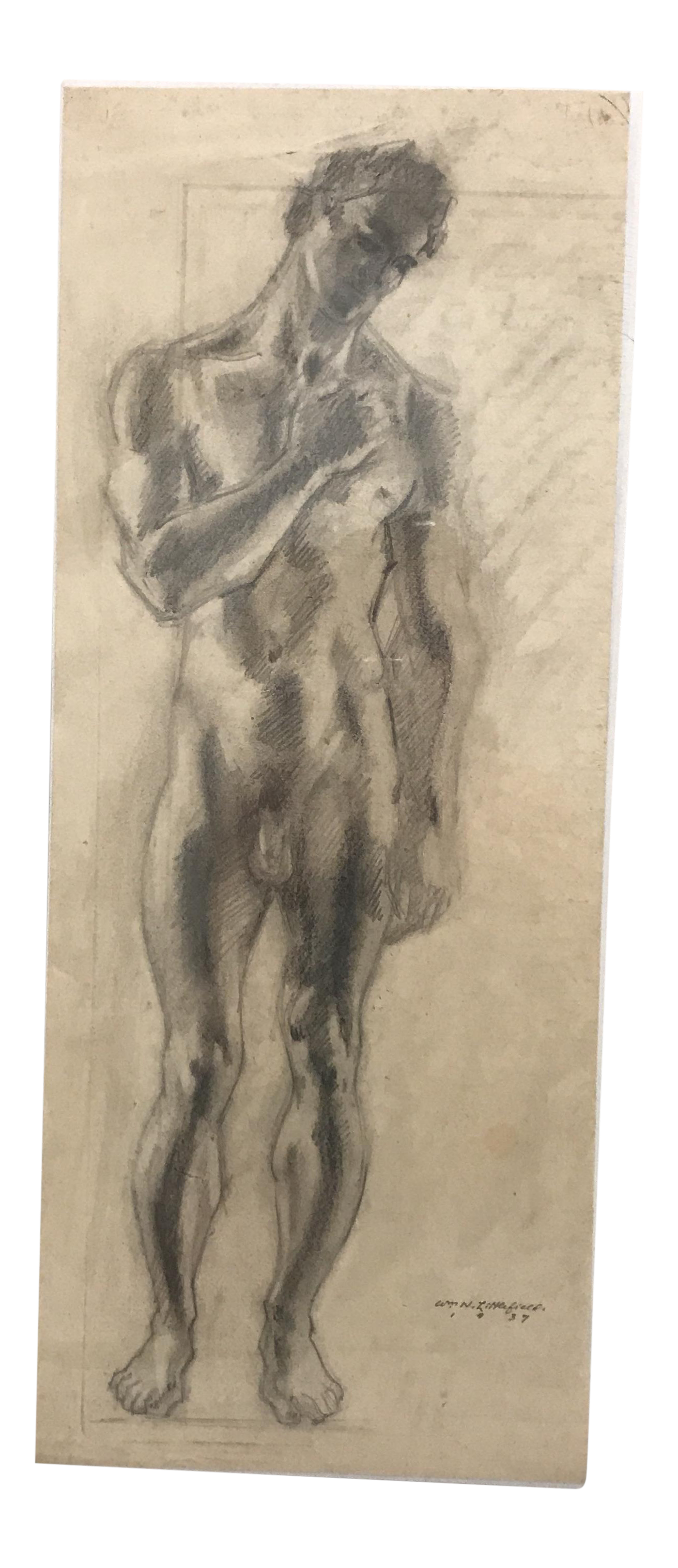 Academic drawing anatomy. Collection of free conte