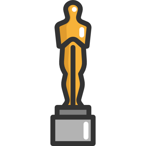 Oscar statue png. Silhouette at getdrawings com
