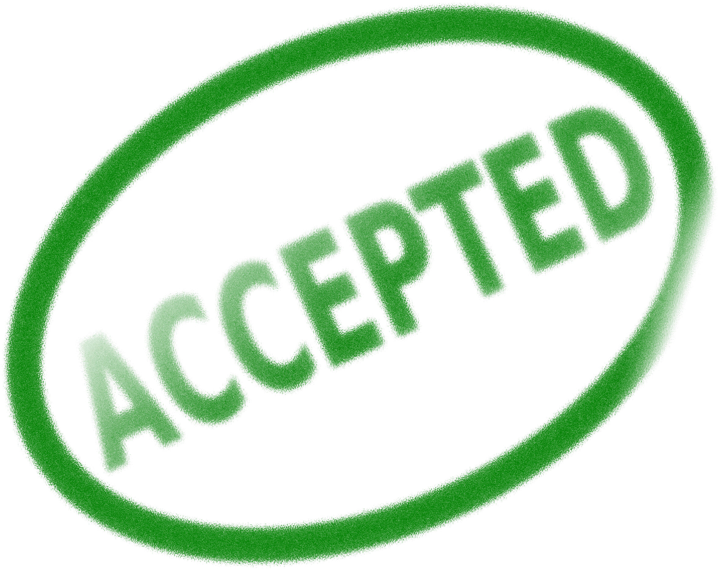 Accepted stamp png. Clipart big image