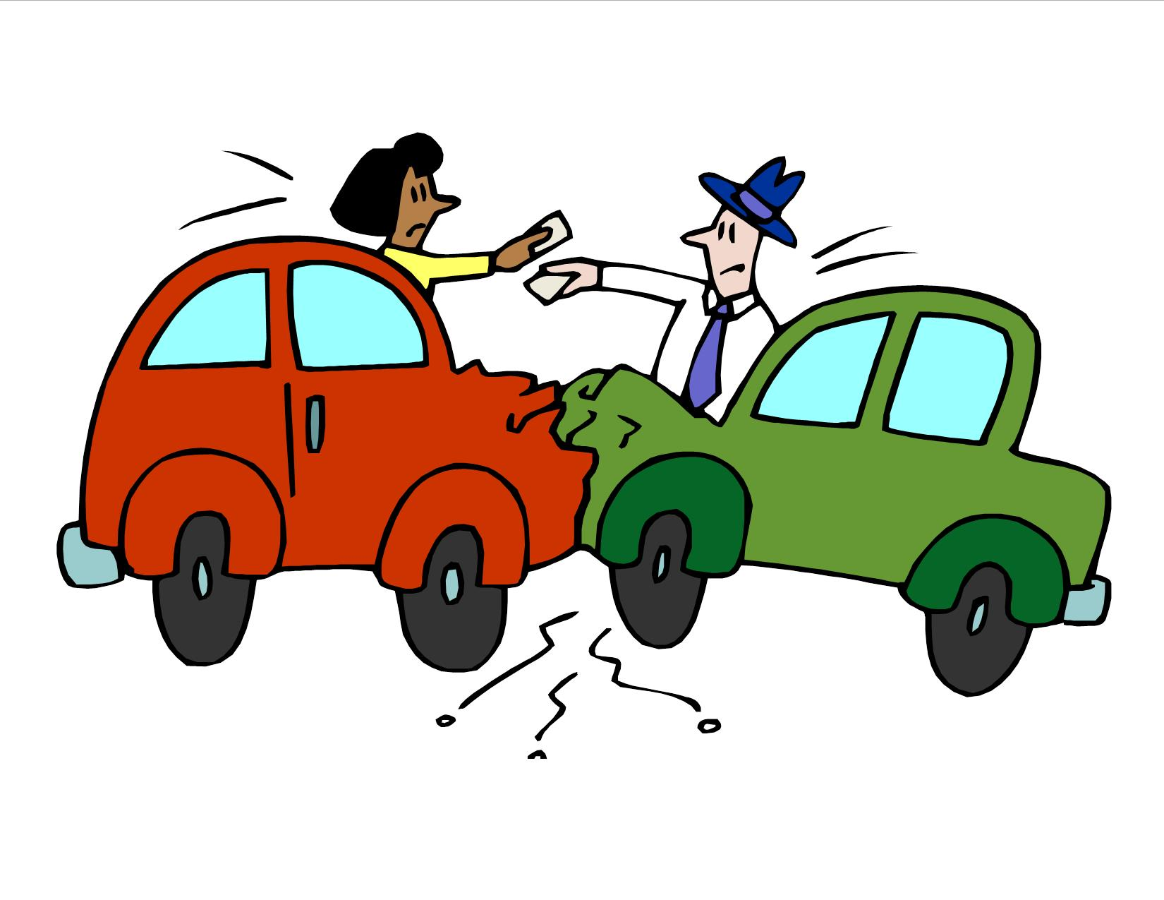 Crash clipart free clipart car. After accident