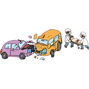 Accident clipart bus accident. Motor vehicle cliparts of