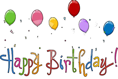 December png animated. Clipart happy birthday animations