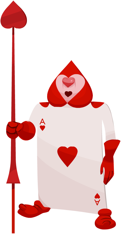 Ace of hearts png. Image card soldier khx