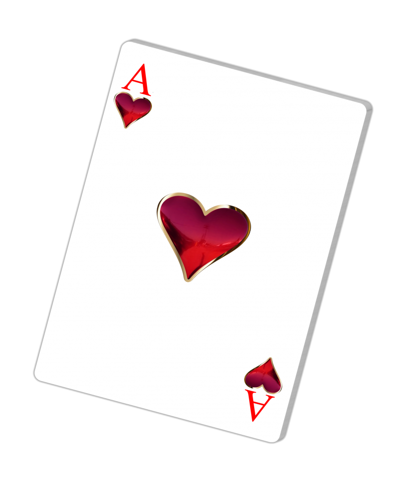 Ace of hearts png. Trickster oh hell playing