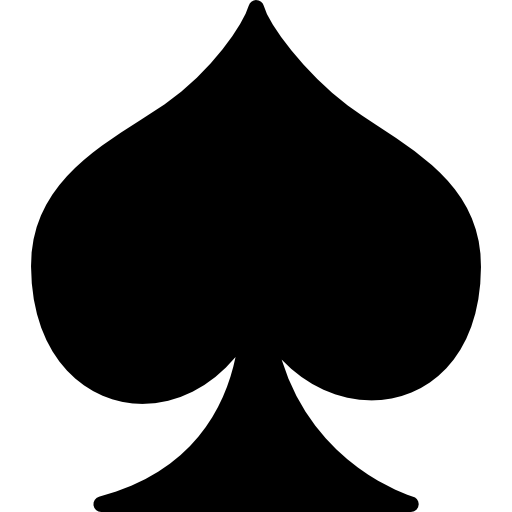 Ace of spade png. Spades free shapes icons