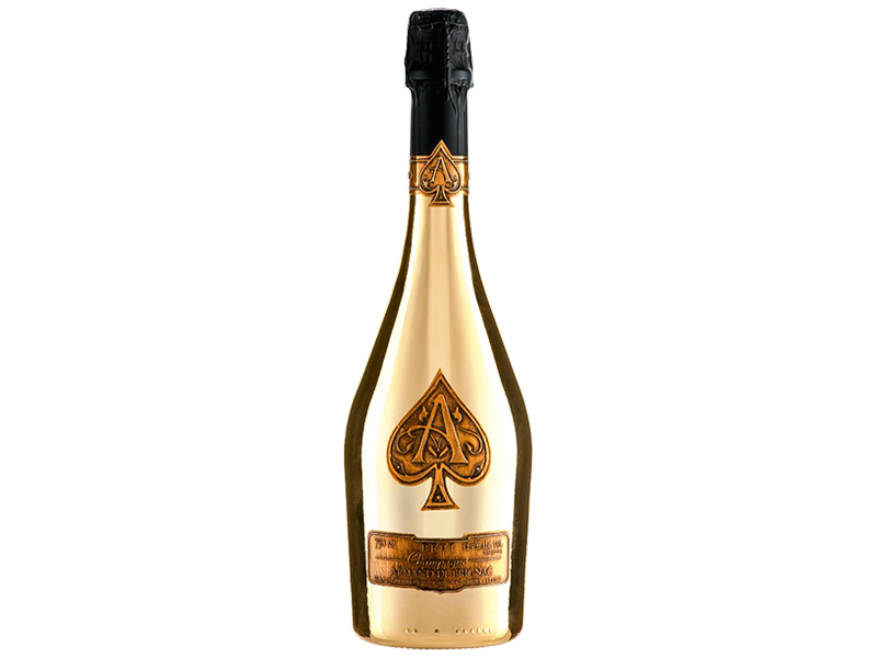 Ace of spade champgne png. Mayfair delivers armand brignac