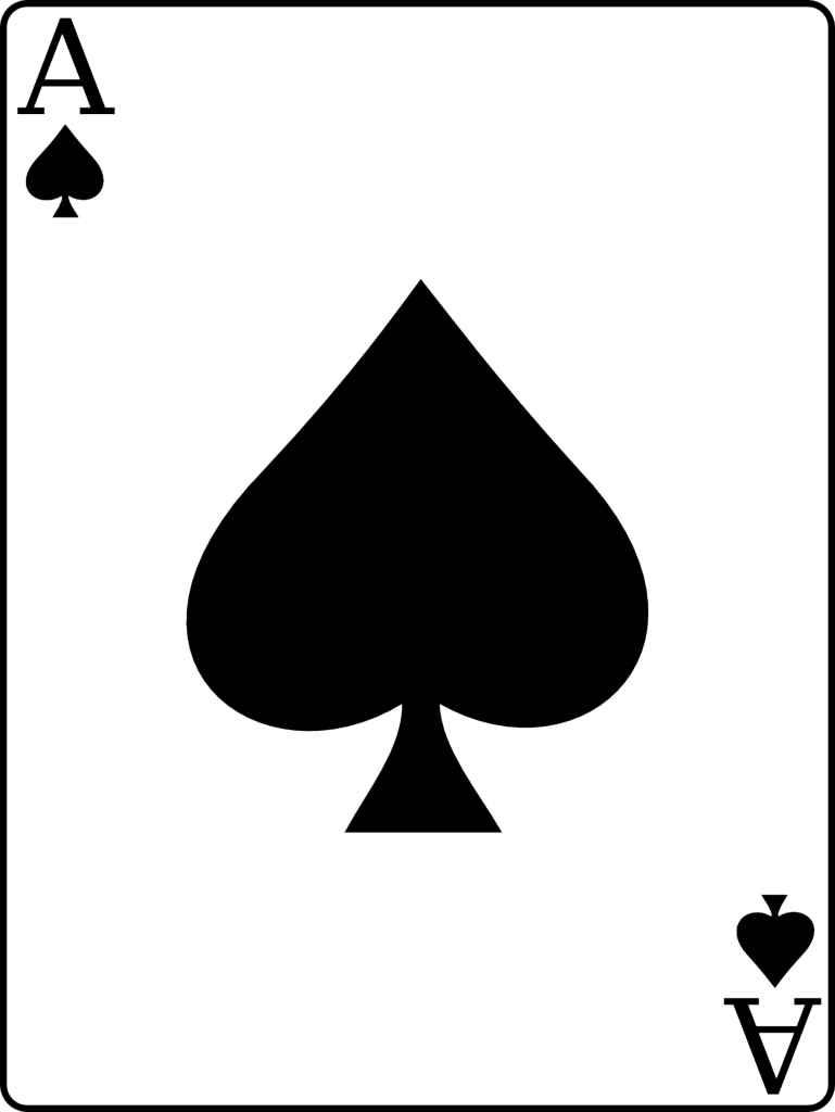 Ace of spades card png. Favourite things pinterest