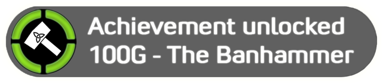 Achievement unlocked you have been banned png. For getting black desert