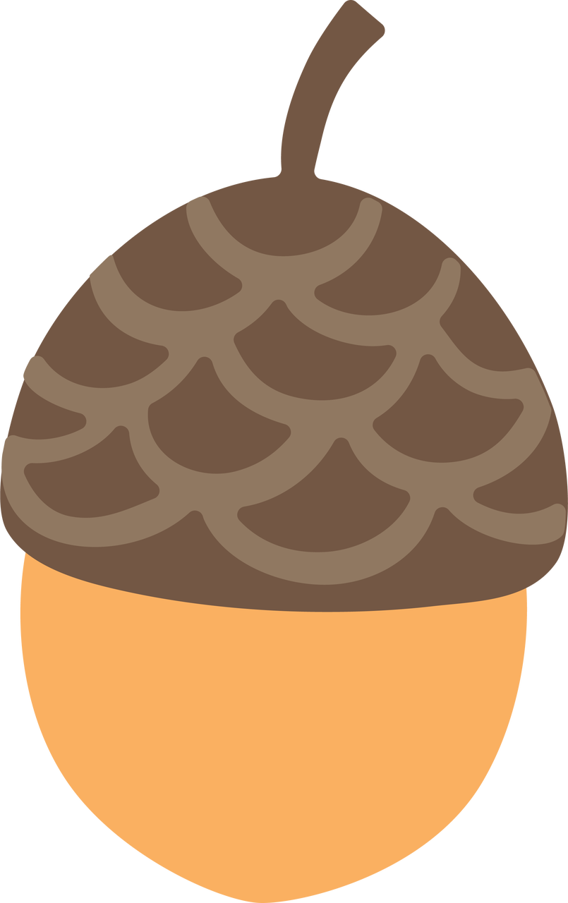Acorn svg. Cut file snap click