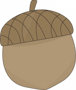 Acorn transparent printable. Clipart animated food