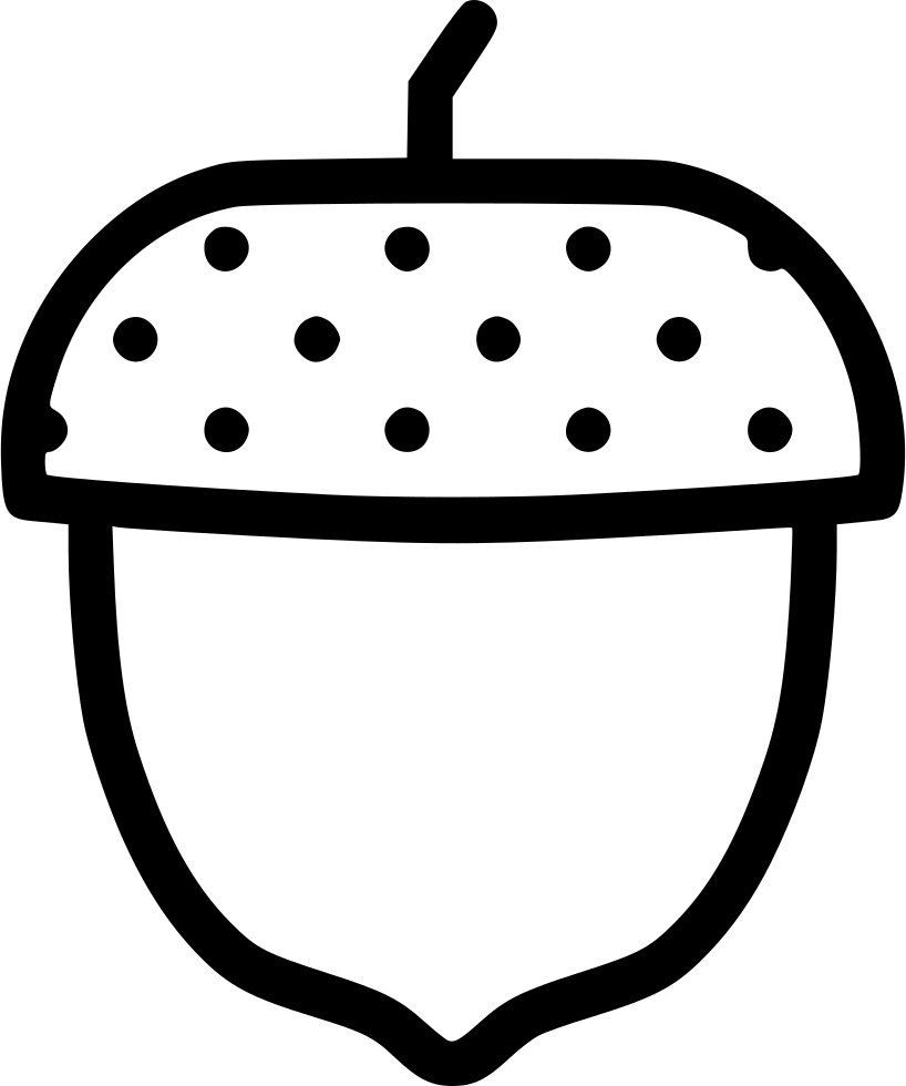 acorn svg transparent