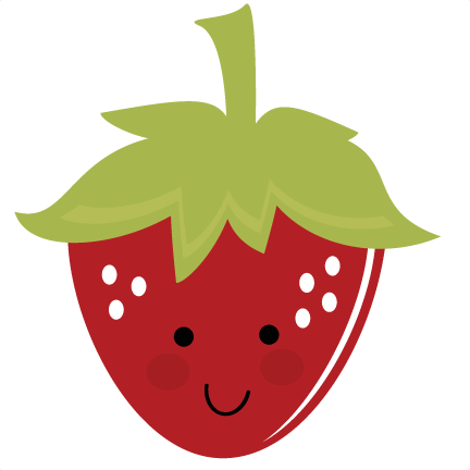Acorn svg printable. Cute strawberry files for