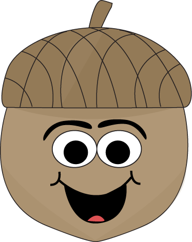 Acorn transparent cute. Cartoon clip art image