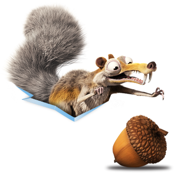 Acorn transparent ice age. Png images free download