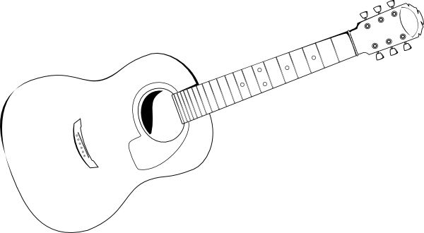 guitar outline png