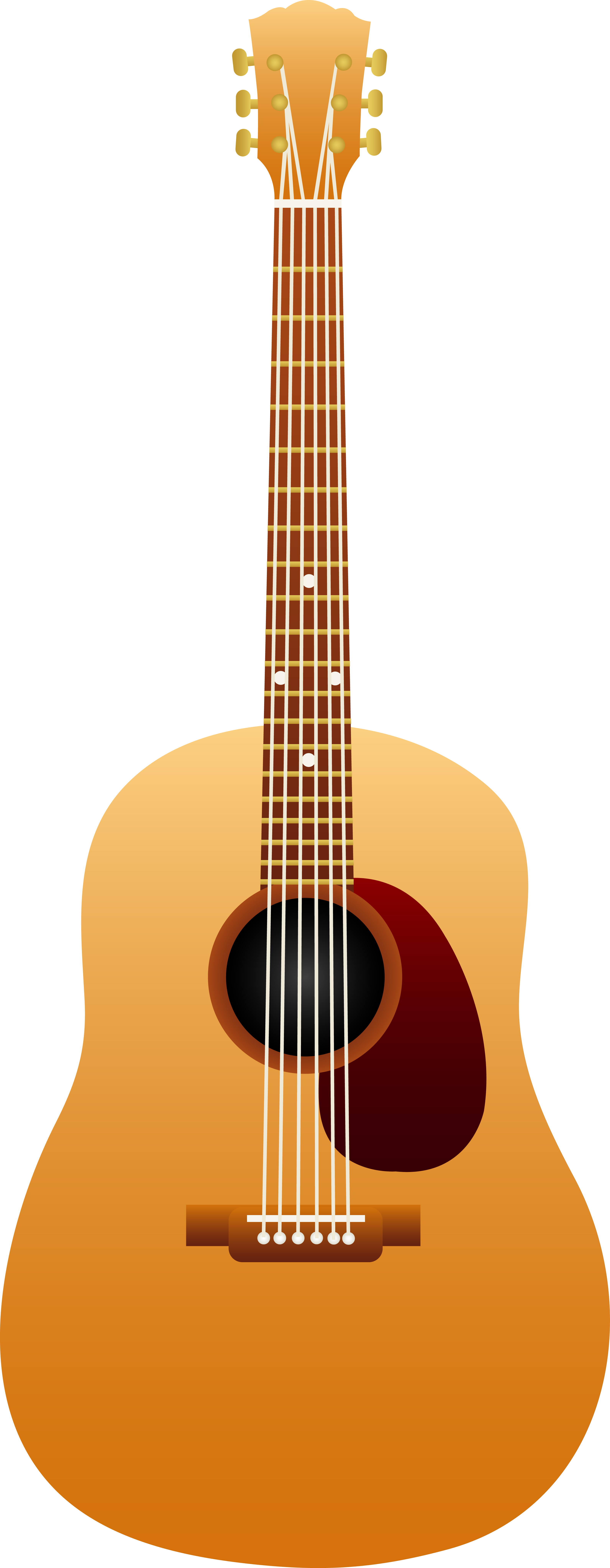 Acoustic clipart classic guitar. Classical wooden free clip
