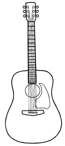 7 Acoustic Clipart Blue Guitar For Free Download On Ya Webdesign