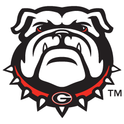 History of uga the. Drawing bulldogs georgia banner black and white