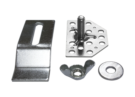 Acro clip stainless steel. Sink clips integra adhesives