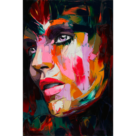 Acrylic drawing. Francoise nielly s rie