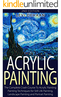 Acrylic drawing nature. Painting the ultimate guide