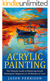 Acrylic drawing beginner. Painting for beginners everything