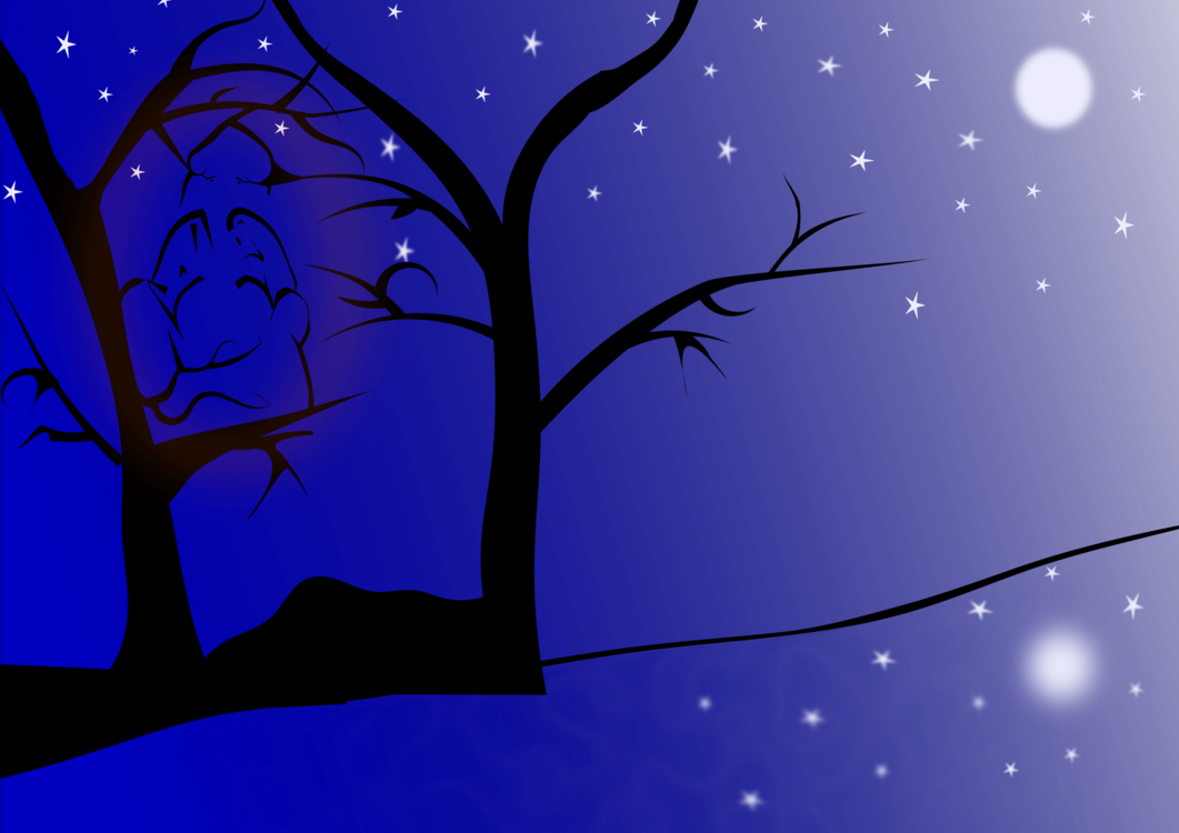 Acrylic drawing night sky. Free commercial clipart