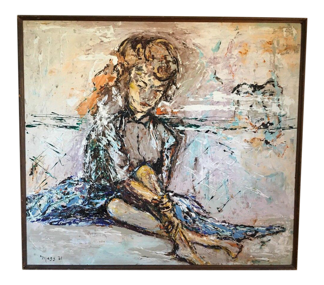 Expressionism drawing meaningful. Listed artist milton moss