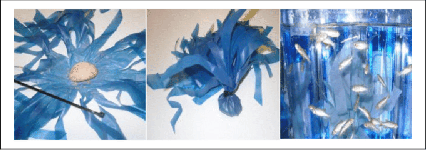 Acrylic drawing science. Making weeds to enrich