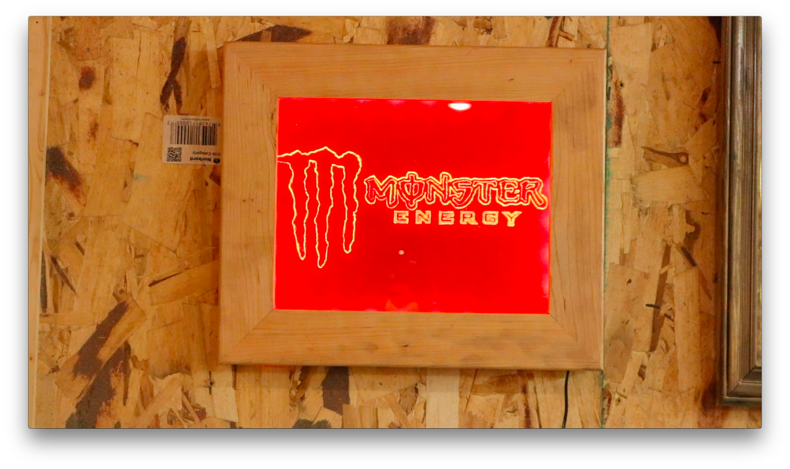 Acrylic drawing step by. Light bar sign steps