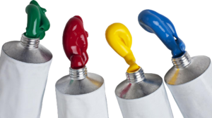 Acrylic paint png. Ph and conductivity for
