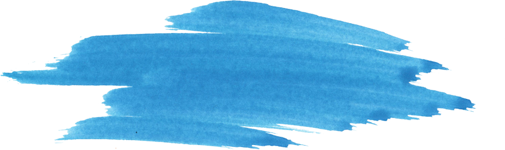 Acrylic paint png. Blue watercolor brush