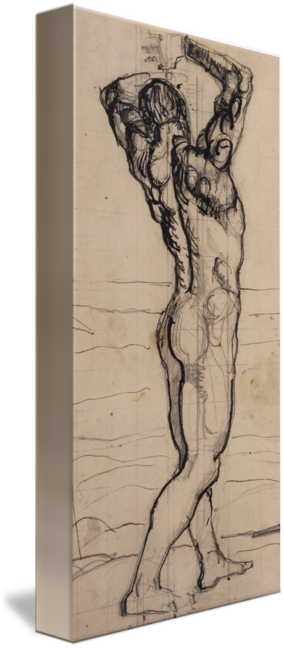 Act drawing male