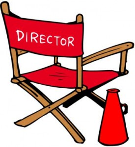 acting clipart discussion director