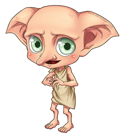 Acting drawing dobby. By iksia the geek