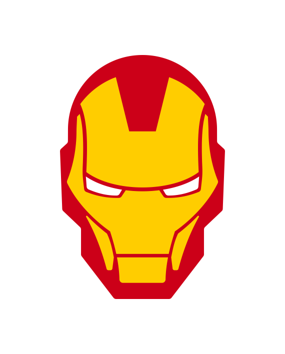 scifi vector iron man